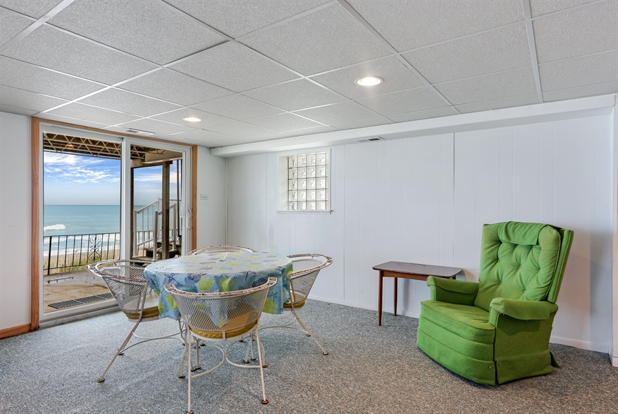 Real Estate Photography - 3040 Lake Shore Drive, Long Beach, IN, 46360 - Lower Level