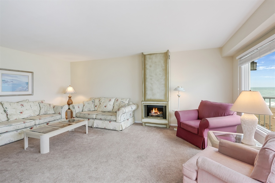 Real Estate Photography - 3040 Lake Shore Drive, Long Beach, IN, 46360 - Living Room