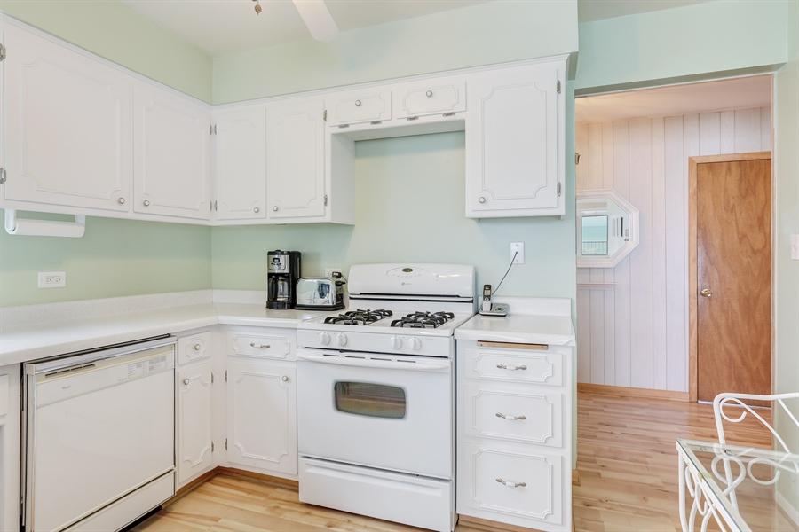 Real Estate Photography - 3040 Lake Shore Drive, Long Beach, IN, 46360 - Kitchen