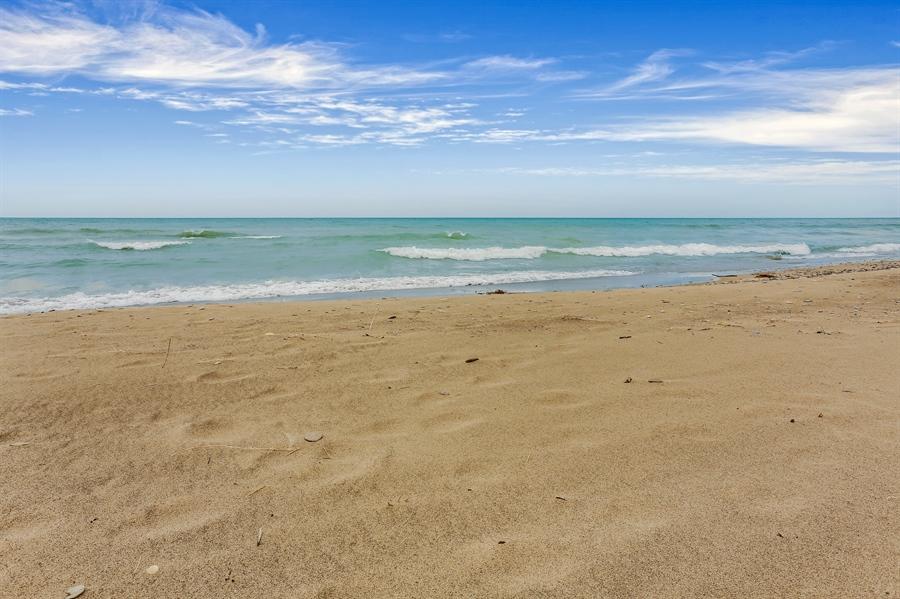 Real Estate Photography - 3040 Lake Shore Drive, Long Beach, IN, 46360 - Lake View