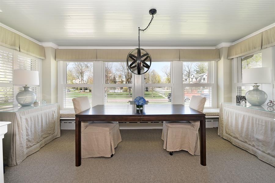 Real Estate Photography - 1133 Ashland, Wilmette, IL, 60091 - Sunroom