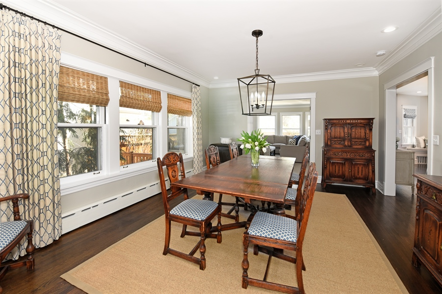 Real Estate Photography - 1133 Ashland, Wilmette, IL, 60091 - Dining Room View