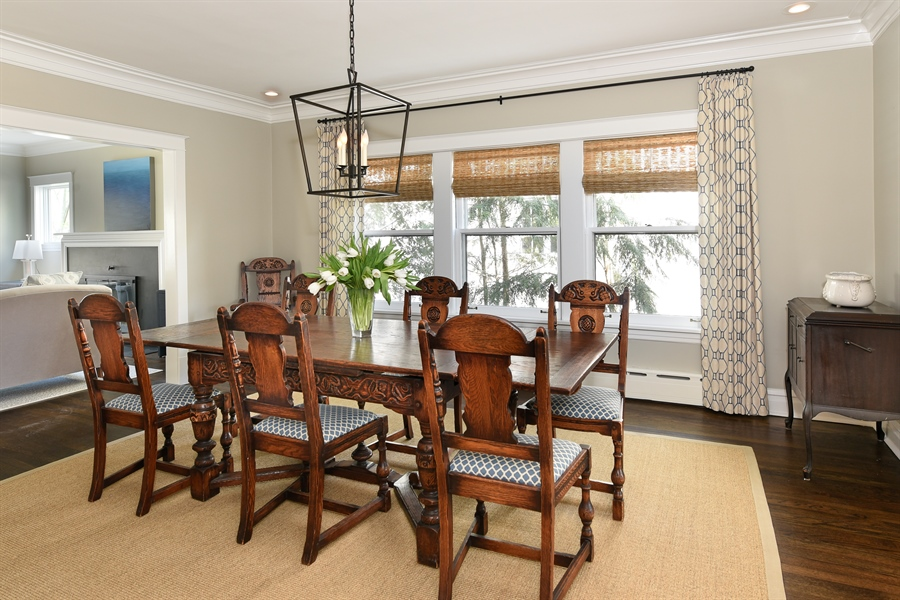Real Estate Photography - 1133 Ashland, Wilmette, IL, 60091 - Formal Dining Room