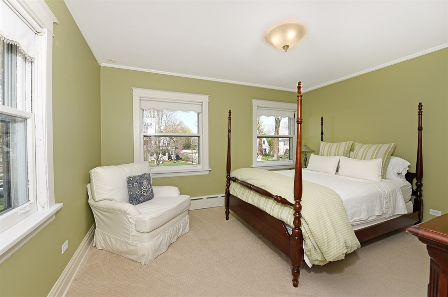 Real Estate Photography - 1133 Ashland, Wilmette, IL, 60091 - Second Bedroom