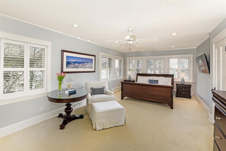 Real Estate Photography - 1133 Ashland, Wilmette, IL, 60091 - Master Suite