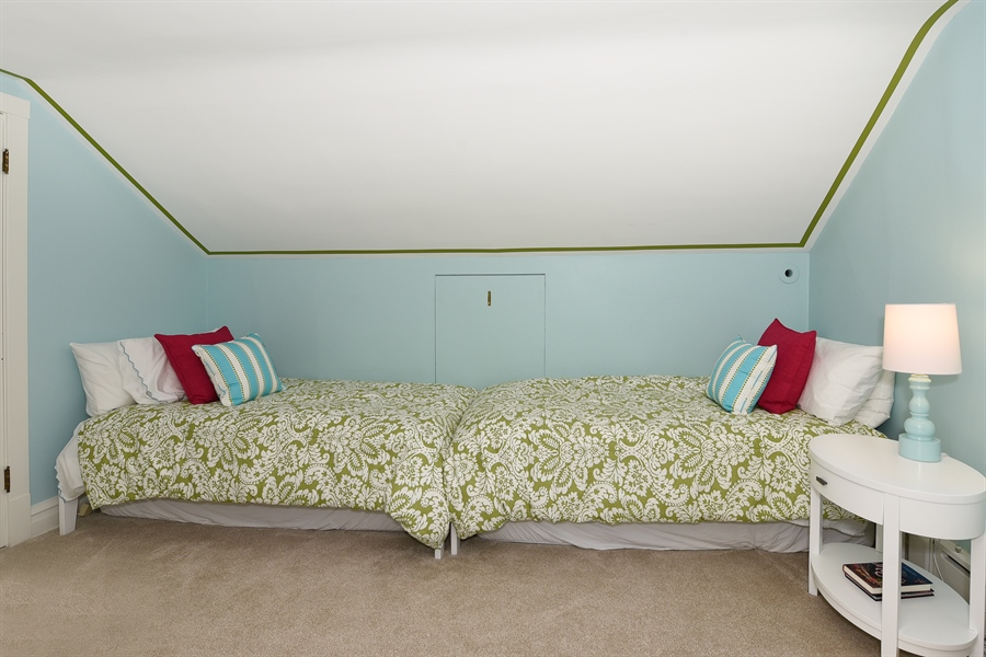 Real Estate Photography - 1133 Ashland, Wilmette, IL, 60091 - Third Floor Fifth Bedroom