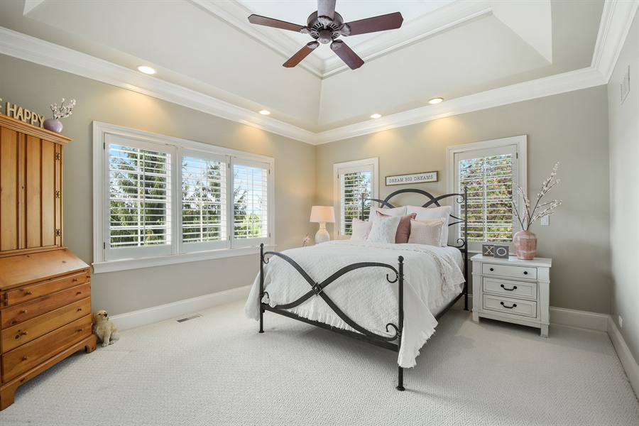 Real Estate Photography - 9 Hubbell Ct, Barrington Hills, IL, 60010 - 2nd Bedroom