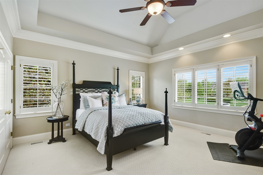 Real Estate Photography - 9 Hubbell Ct, Barrington Hills, IL, 60010 - 3rd Bedroom