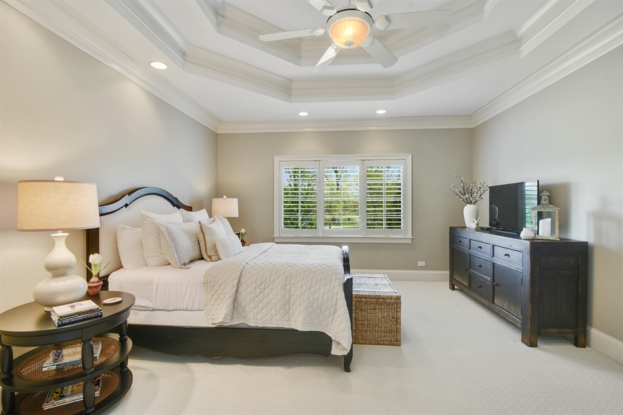 Real Estate Photography - 9 Hubbell Ct, Barrington Hills, IL, 60010 - 4th Bedroom