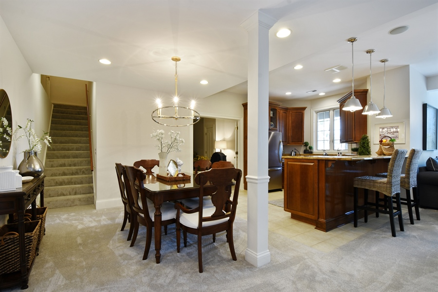 Real Estate Photography - 9 Hubbell Ct, Barrington Hills, IL, 60010 - Lower Level