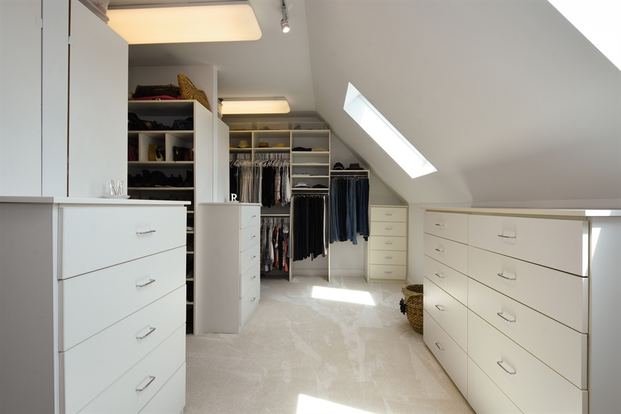 Real Estate Photography - 9 Hubbell Ct, Barrington Hills, IL, 60010 - Master Bedroom Closet