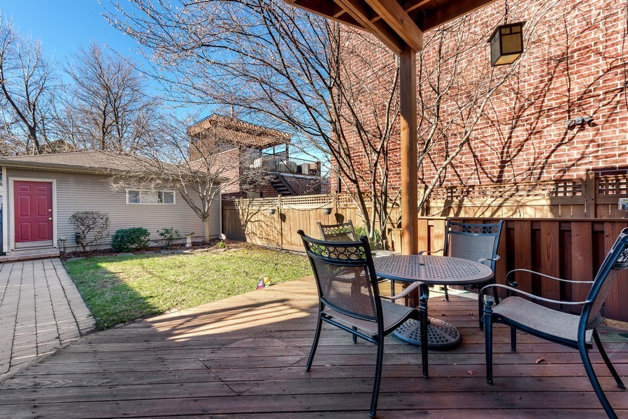 Real Estate Photography - 2127 W School St, Chicago, IL, 60618 - Back Yard