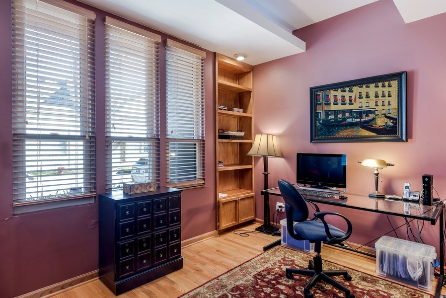 Real Estate Photography - 2127 W School St, Chicago, IL, 60618 - Office