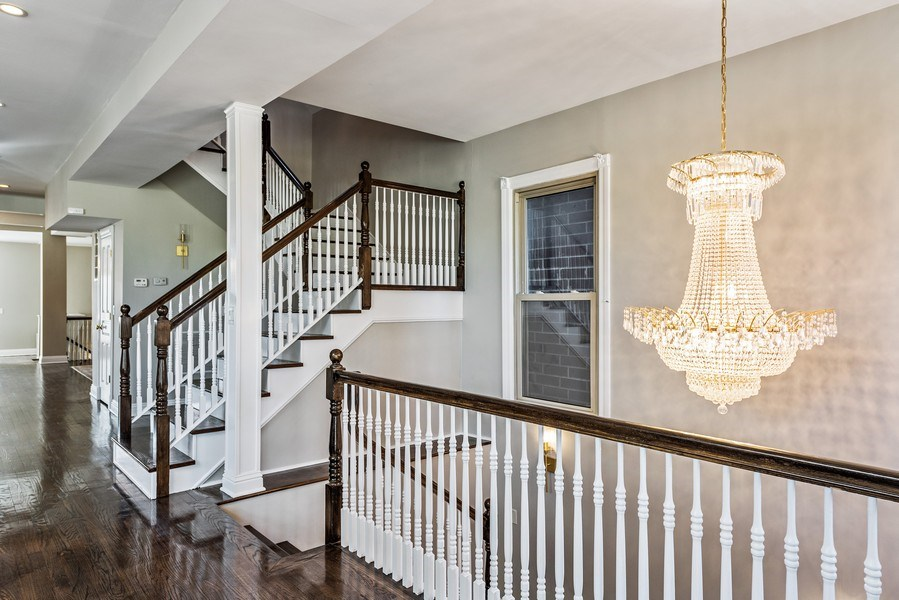 Real Estate Photography - 2127 W School St, Chicago, IL, 60618 - Staircase