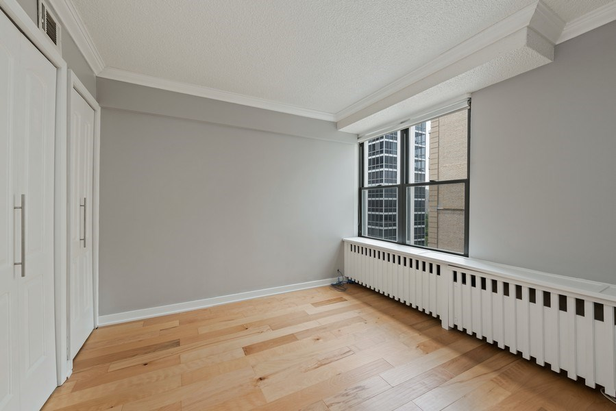 Real Estate Photography - 1540 N State St, Unit 15B, Chicago, IL, 60610 - 2nd Bedroom