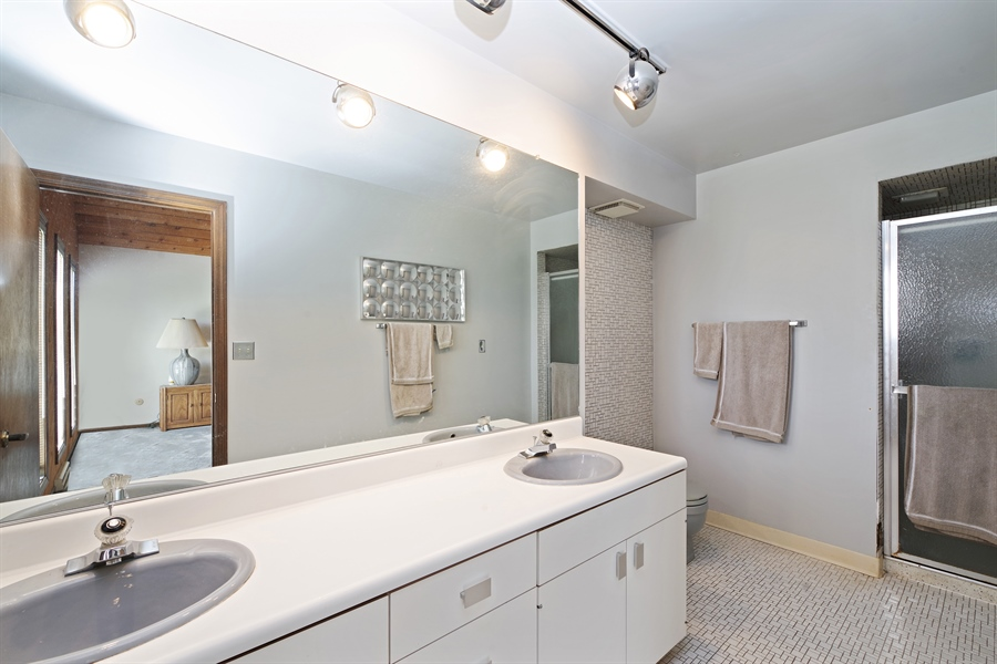 Real Estate Photography - 14405 w Jody Lane, Wadsworth, IL, 60083 - Master Bathroom