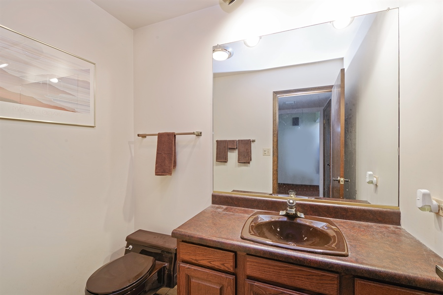 Real Estate Photography - 14405 w Jody Lane, Wadsworth, IL, 60083 - Powder Room