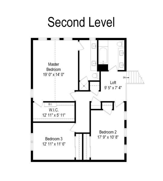 Real Estate Photography - 14405 w Jody Lane, Wadsworth, IL, 60083 - Floor Plan