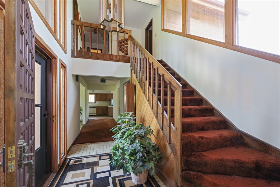 Real Estate Photography - 14405 w Jody Lane, Wadsworth, IL, 60083 - Staircase
