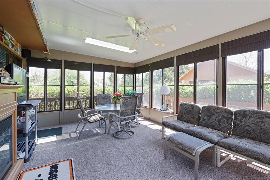 Real Estate Photography - 14405 w Jody Lane, Wadsworth, IL, 60083 - Sun Room
