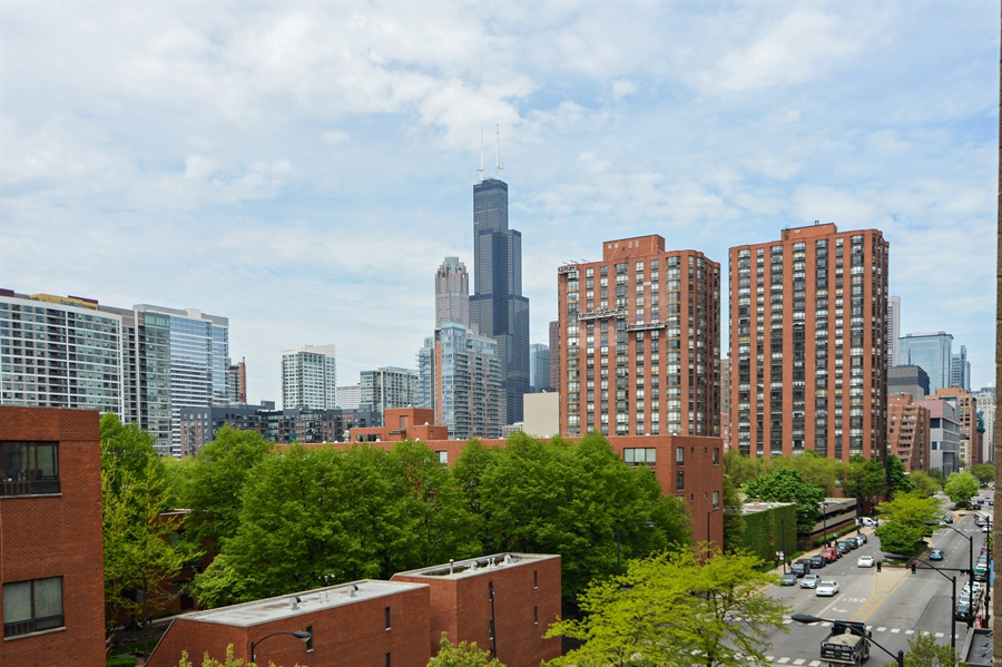 Real Estate Photography - 1111 S State, unit 507, Chicago, IL, 60605 - City View