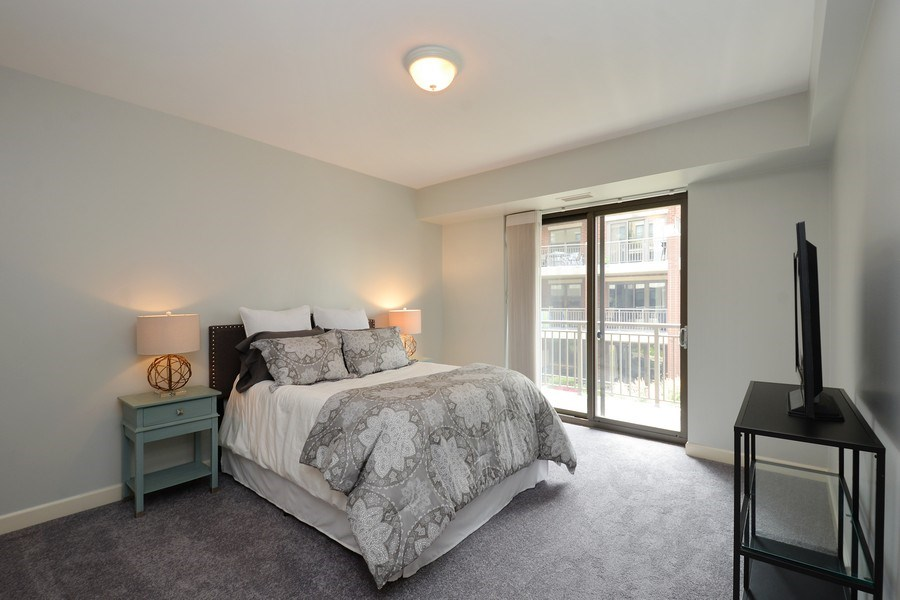 Real Estate Photography - 1111 S State, unit 507, Chicago, IL, 60605 - Master Bedroom