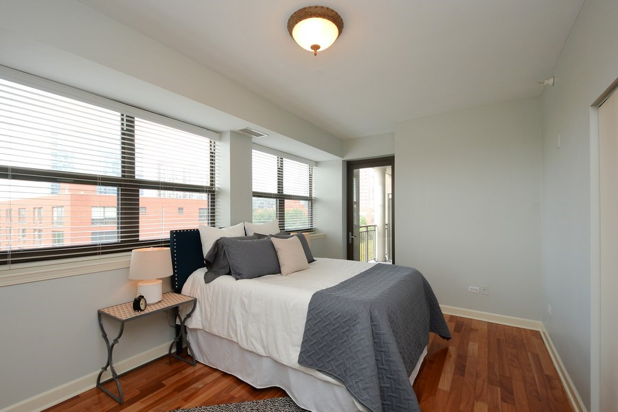Real Estate Photography - 1111 S State, unit 507, Chicago, IL, 60605 - Bedroom