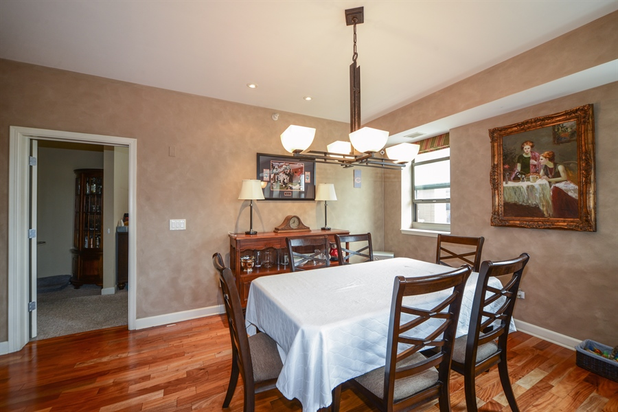 Real Estate Photography - 1111 S State, unit 507, Chicago, IL, 60605 - Dining Room