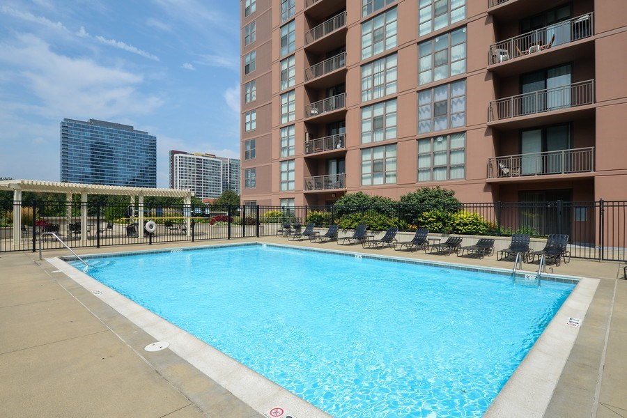 Real Estate Photography - 1111 S State, unit 507, Chicago, IL, 60605 - Pool
