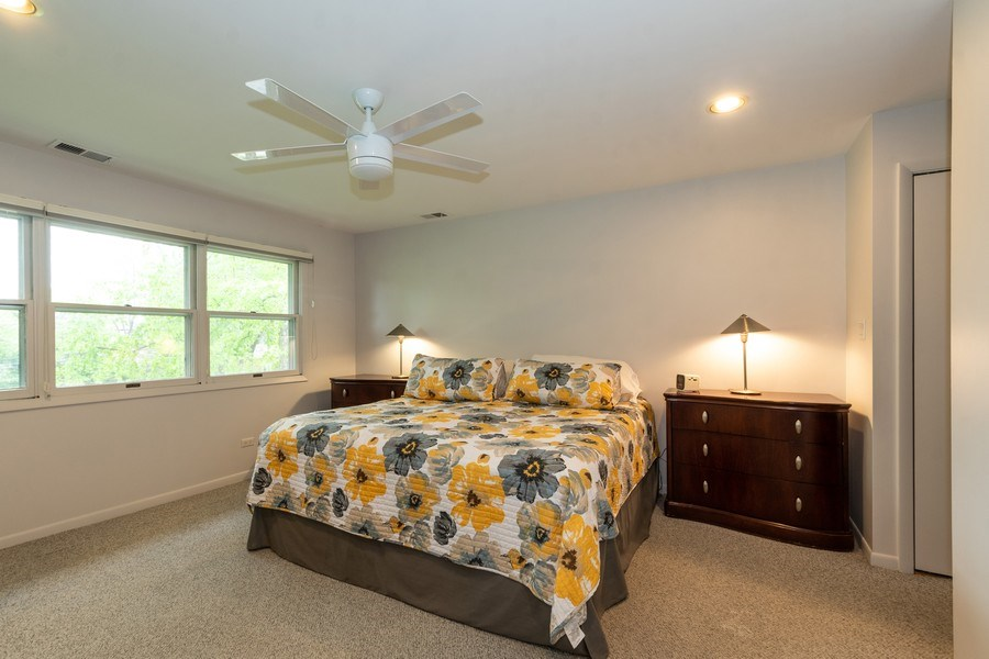 Real Estate Photography - 1930 Phillips, Northbrook, IL, 60062 - Master Bedroom