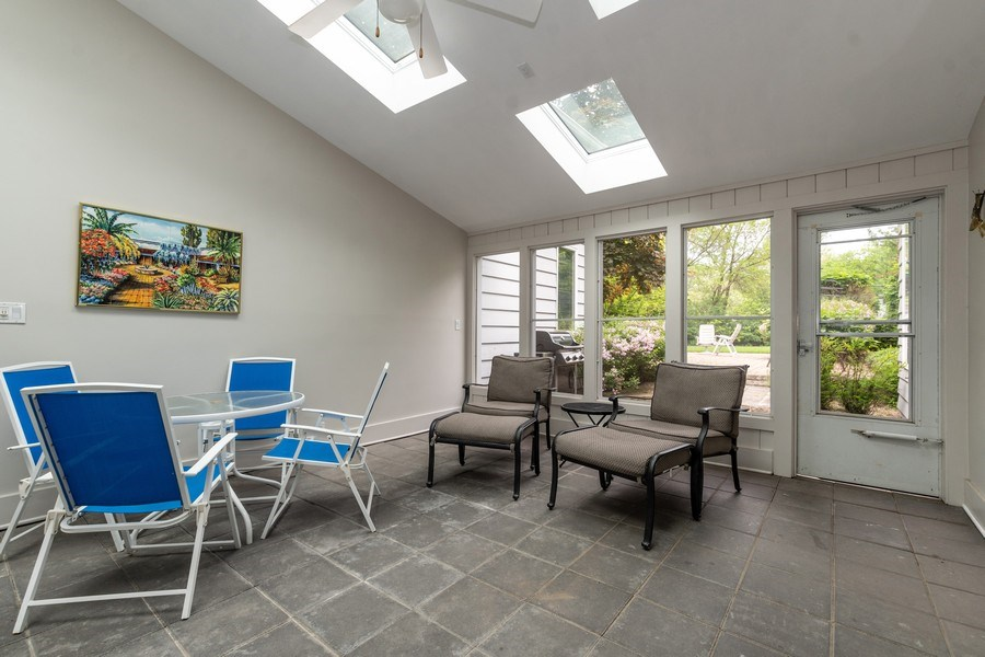 Real Estate Photography - 1930 Phillips, Northbrook, IL, 60062 - Sunroom