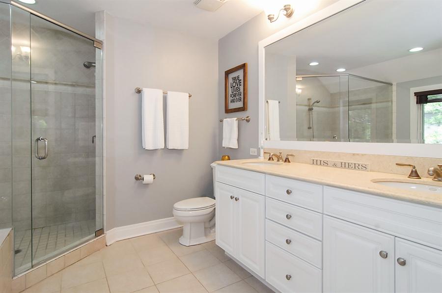 Real Estate Photography - 305 16th St, Wilmette, IL, 60091 - Master Bathroom