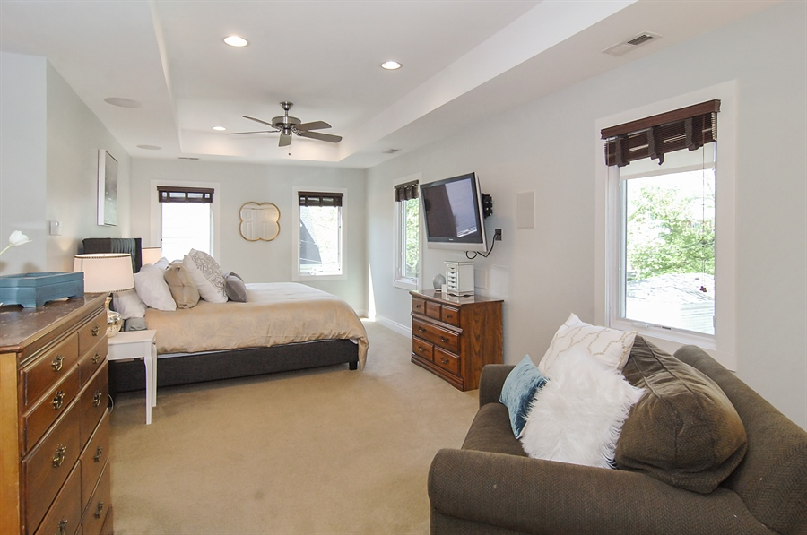 Real Estate Photography - 305 16th St, Wilmette, IL, 60091 - Master Bedroom