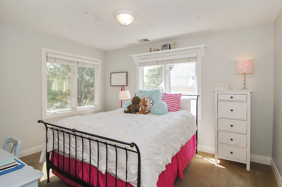 Real Estate Photography - 305 16th St, Wilmette, IL, 60091 - 2nd Bedroom