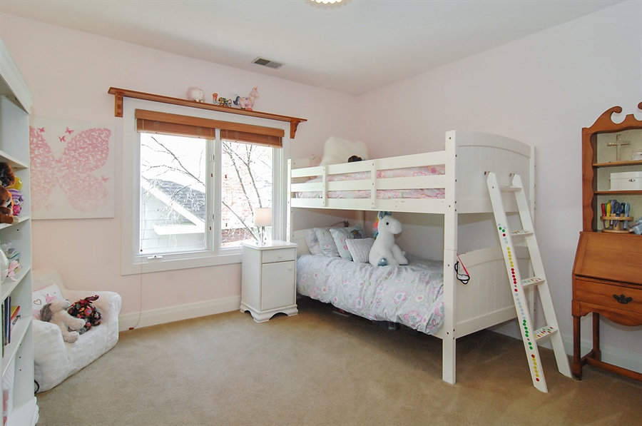 Real Estate Photography - 305 16th St, Wilmette, IL, 60091 - 3rd Bedroom