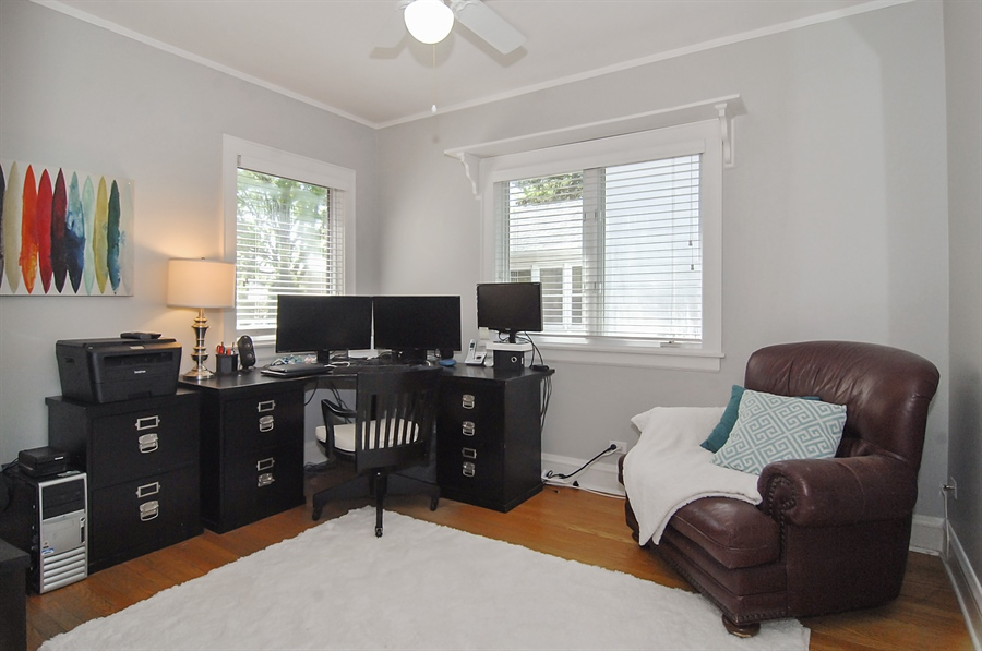 Real Estate Photography - 305 16th St, Wilmette, IL, 60091 - 4th bedroom-first floor