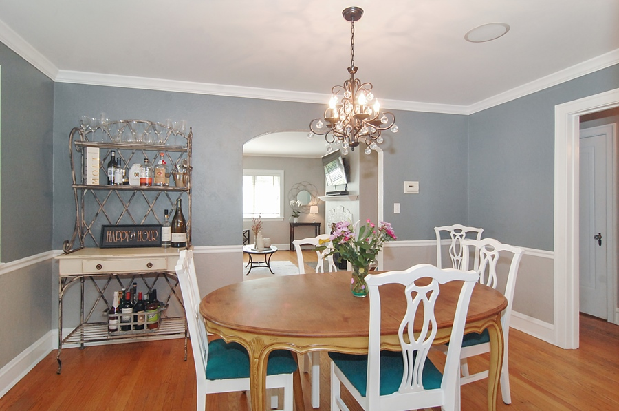 Real Estate Photography - 305 16th St, Wilmette, IL, 60091 - Dining Room