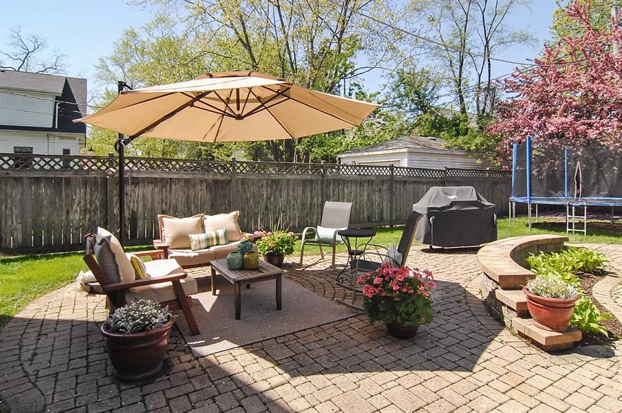 Real Estate Photography - 305 16th St, Wilmette, IL, 60091 - Patio