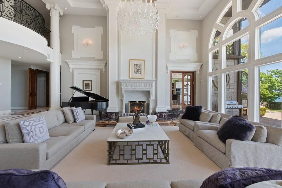 Real Estate Photography - 67 Laurel, Highland Park, IL, 60035 - Living Room