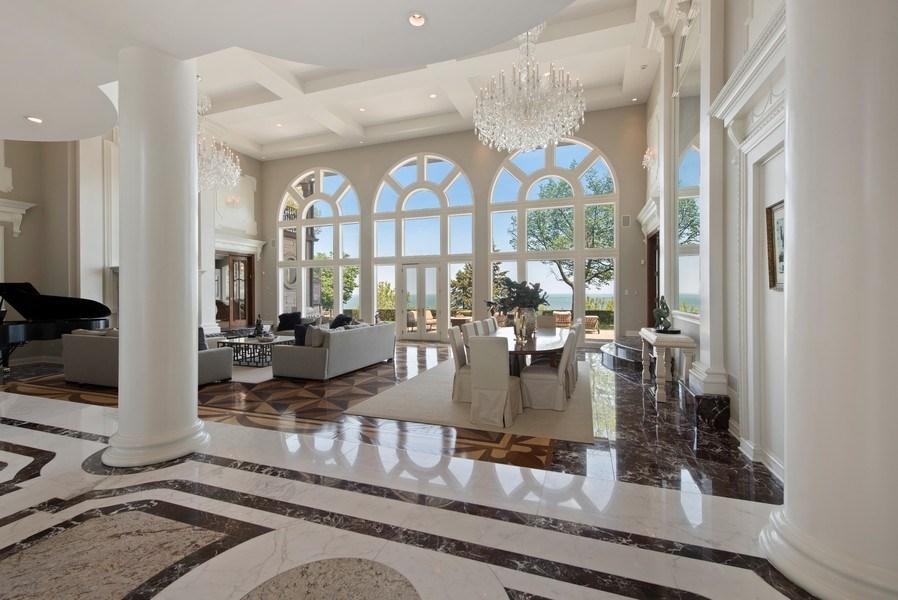 Real Estate Photography - 67 Laurel, Highland Park, IL, 60035 - Foyer/Living Room