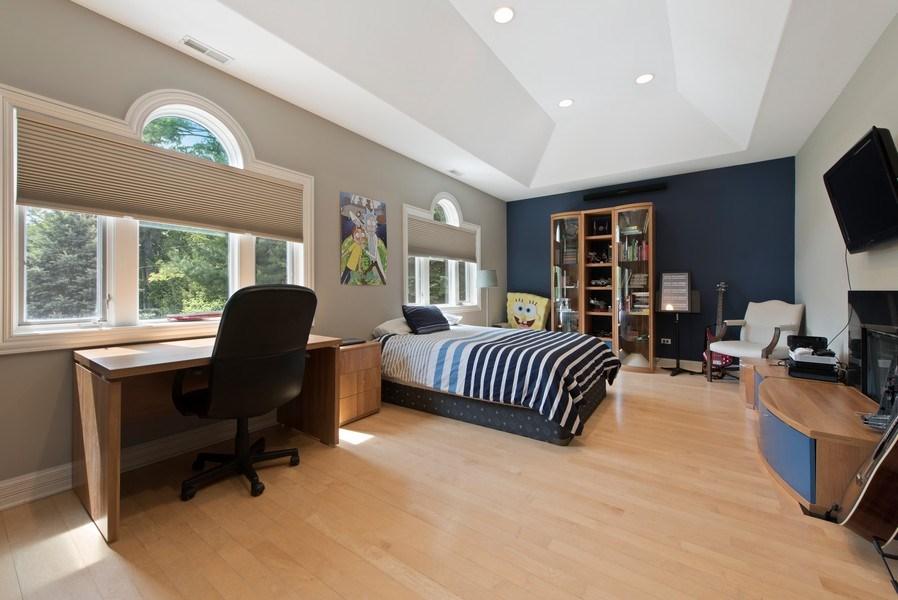 Real Estate Photography - 67 Laurel, Highland Park, IL, 60035 - 3rd Bedroom