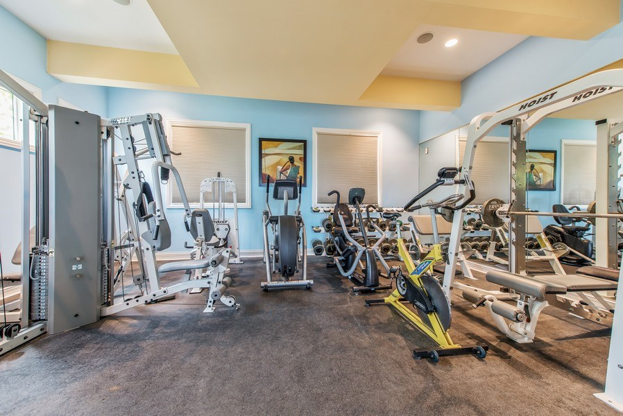 Real Estate Photography - 67 Laurel, Highland Park, IL, 60035 - Exercise Room