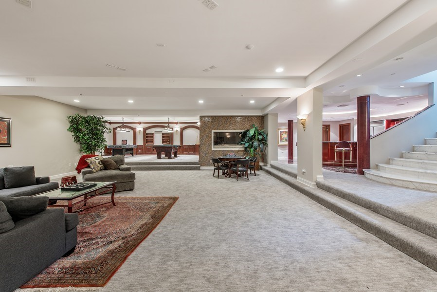 Real Estate Photography - 67 Laurel, Highland Park, IL, 60035 - Recreational Room