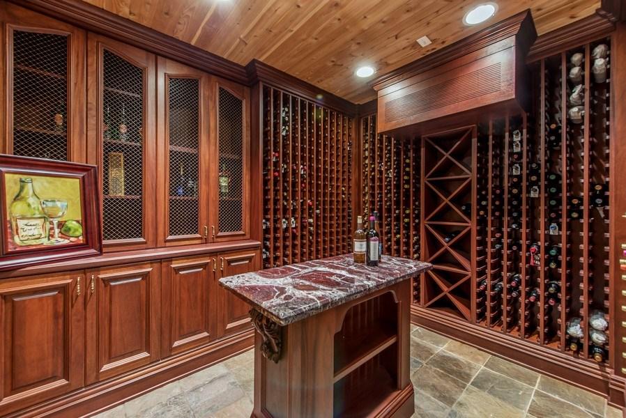 Real Estate Photography - 67 Laurel, Highland Park, IL, 60035 - Wine Cellar