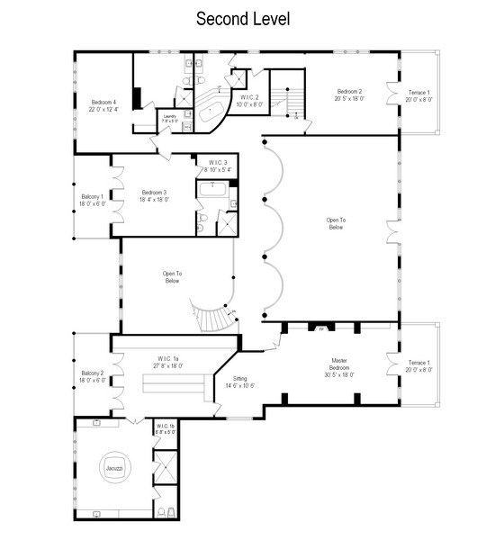 Real Estate Photography - 67 Laurel, Highland Park, IL, 60035 - Floor Plan
