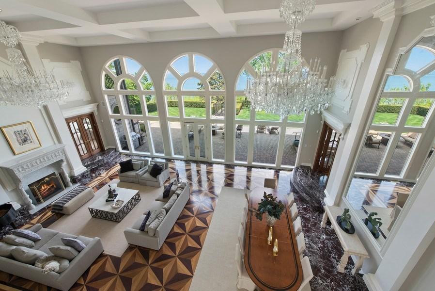 Real Estate Photography - 67 Laurel, Highland Park, IL, 60035 - Living Room/Dining Room
