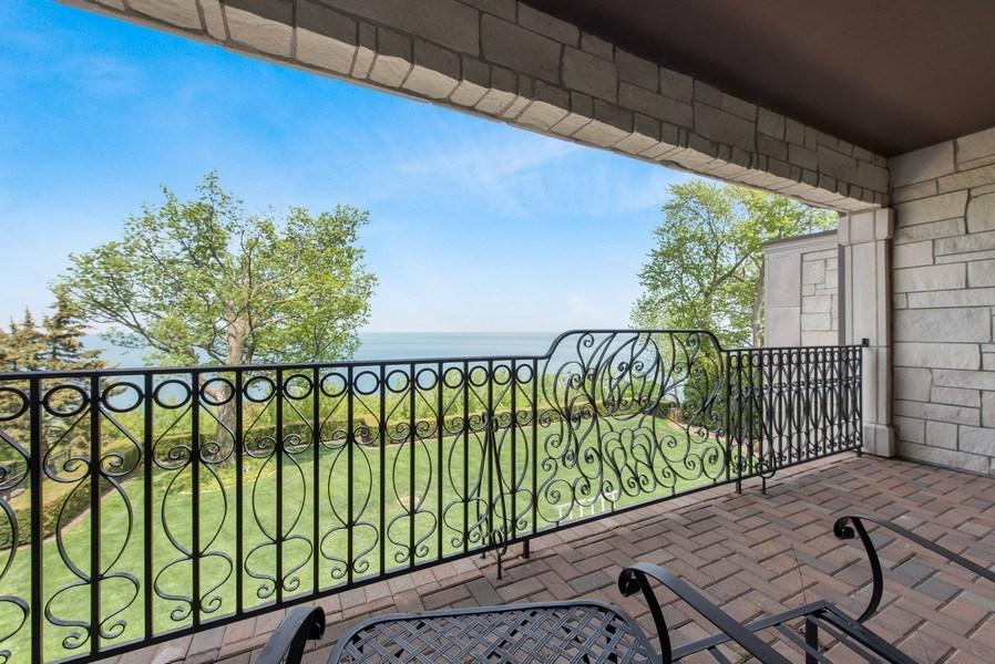 Real Estate Photography - 67 Laurel, Highland Park, IL, 60035 - Balcony