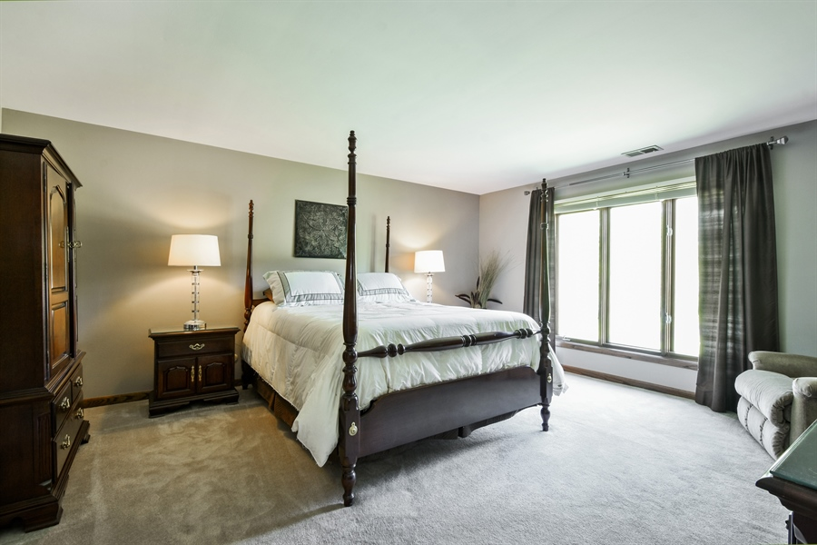 Real Estate Photography - 27948 W Kelsey Rd, Lake Barrington, IL, 60010 - Master Bedroom