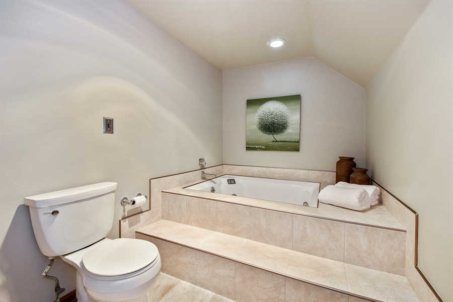 Real Estate Photography - 27948 W Kelsey Rd, Lake Barrington, IL, 60010 - Master Bathroom
