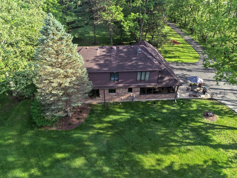 Real Estate Photography - 27948 W Kelsey Rd, Lake Barrington, IL, 60010 - Aerial View